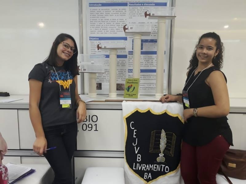 Estudantes de Livramento se apresentam na maior Feira de Ciência e Engenharia do País