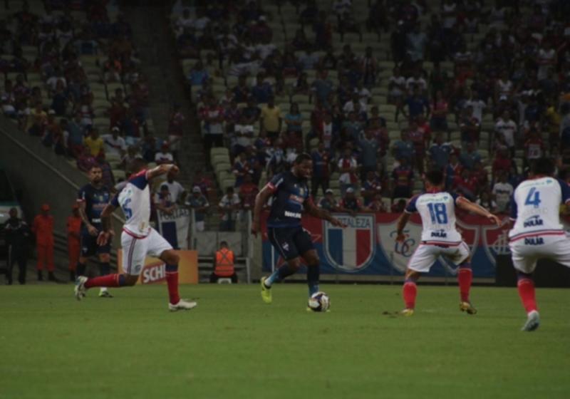 Copa do Nordeste: Bahia e Fortaleza empatam na Arena Castelão