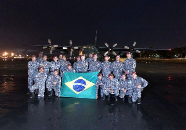 Equipes brasileiras começam a atuar no apoio a vítimas em Moçambique