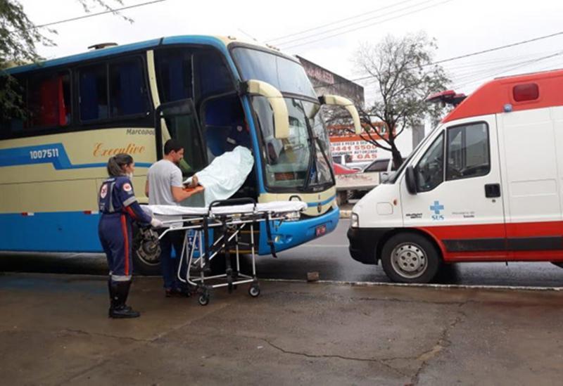 Homem morre dentro de ônibus da Novo Horizonte em Brumado