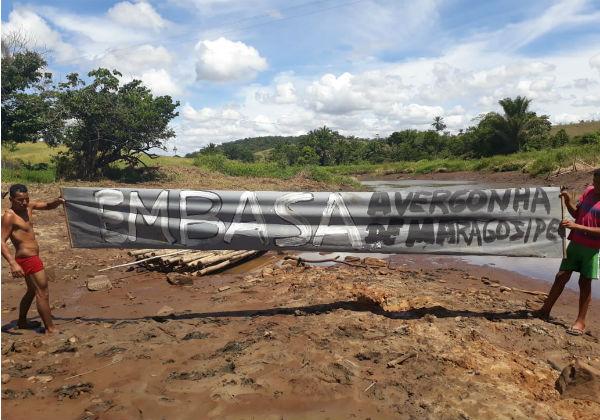 Moradores relatam calamidade por falta de água e prometem novo protesto