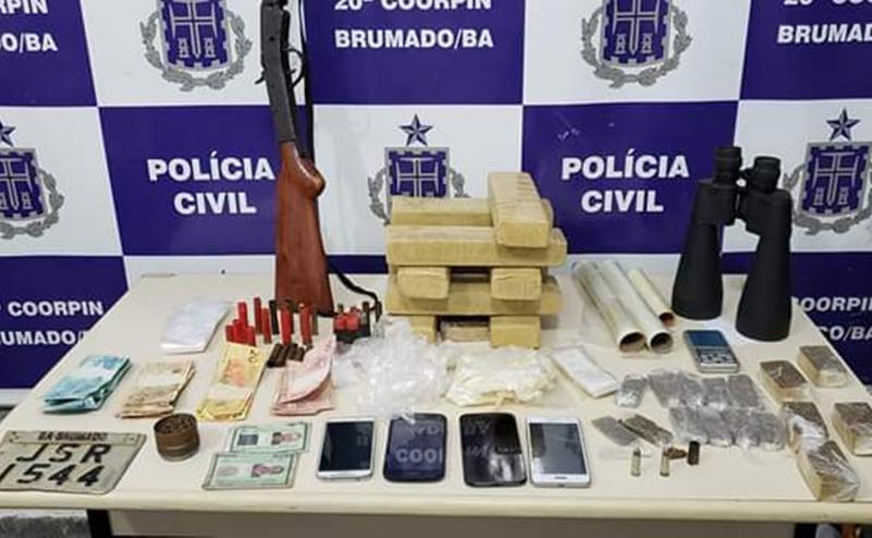 Brumado: Polícia Civil apreende grande quantidade de maconha
