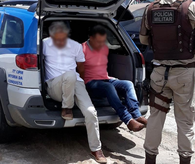 Homens são presos suspeitos de atuarem ilegalmente como cirurgiões-dentistas em Conquista