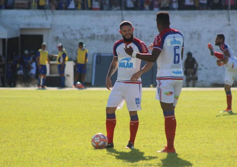 Bahia se dá bem fora de casa e ganha de 5 a 0 para o Jequié