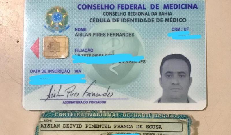 Cipe Nordeste captura falso médico em Nova Soure